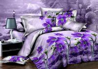 Purple Orchid Flower Unique Duvet/Quilt Cover Modern Queen ...