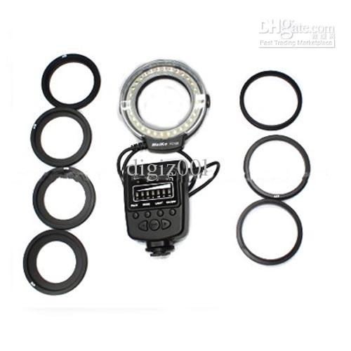 2020 LED Macro Ring Flash Light Circular For Nikon Canon