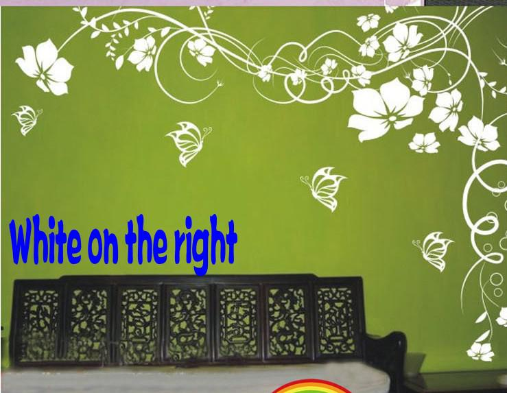 Black And White Feature Wall Wallpaper Hot Selling Beautiful Flower Wall Paper Decal Art Stickers