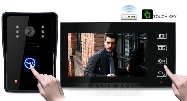 HOMSECUR 7 Wireless Video Door Phone Doorbell Intercom