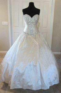 Bling Bling Designers Wedding Dresses C240 Crystals Ball ...