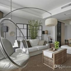 Hanging Chair In Living Room Teak Table Chairs 2019 Bubble Indoor Swing Space Sofa Transparent Acrylic Material Color