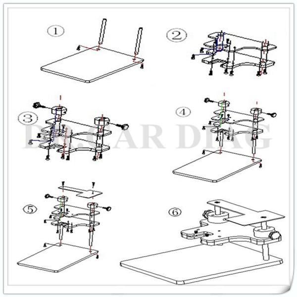 Best Price!2014 Newest Bdm Frame With Adapters Set For