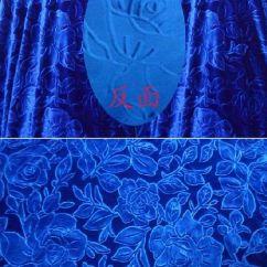 Blue Fabric Recliner Sofa Cindy Crawford Home Bellingham Copper Royal Rose Pattern Velvet Cover Multifunction ...