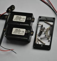 emg 81 85 9 v battery active pickups closed type electric guitar pickups power emg pickups [ 1239 x 829 Pixel ]