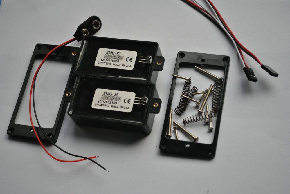 medium resolution of emg 81 85 9 v battery active pickups closed type electric guitar pickups power emg pickups