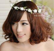 2014 beach wedding flower headdress