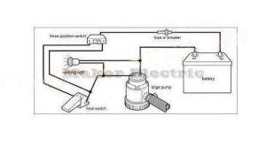 2017 12v 24v 34v Flow Sensor For Bilge Pumps Automatic