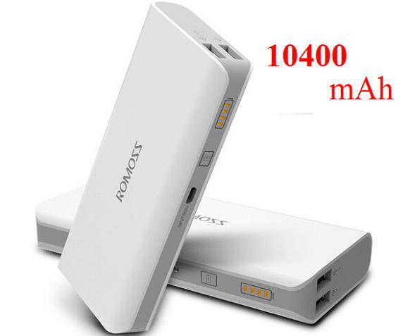 2020 Romoss 10400MAH External Battery Pack Power Bank Charger Chargers Portable Emergency For Mobile Phone IPhone 4 5 6 Galaxy S4 S5 Note 2 3 From ...