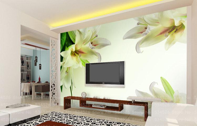 Luxury Photo Wallpaper Murals Tv Sofa Background Decorative 3d