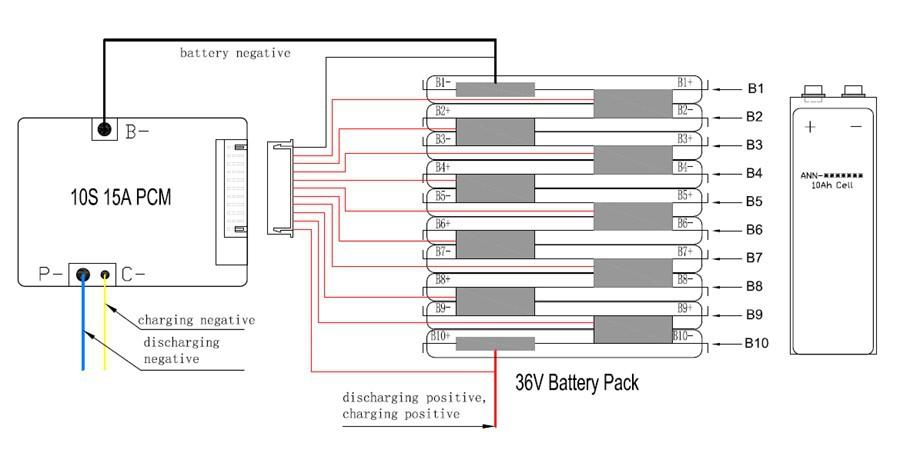 10s bms wiring diagram