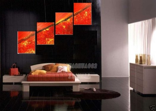 Home Decoration Modern Abstract Oil Painting Wall Art B91