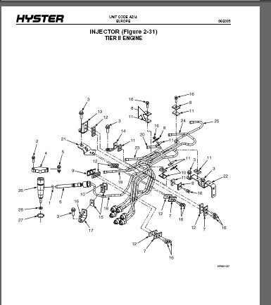 Hyster Forklift Parts Manual+Work Shop Manual+Cu Mmins