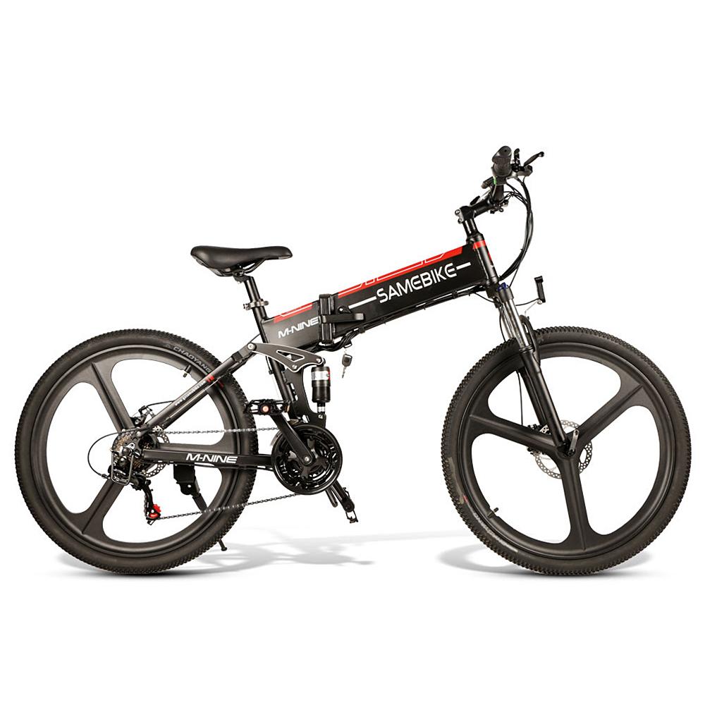 2020 Samebike 26 Inch Foldable Electric Bike Power Assist