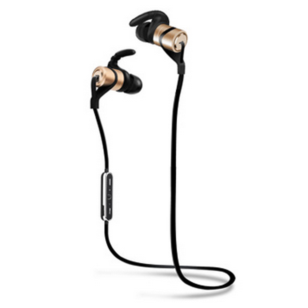 D9 Sport Wireless Bluetooth Earphone Anti Sweat Metal