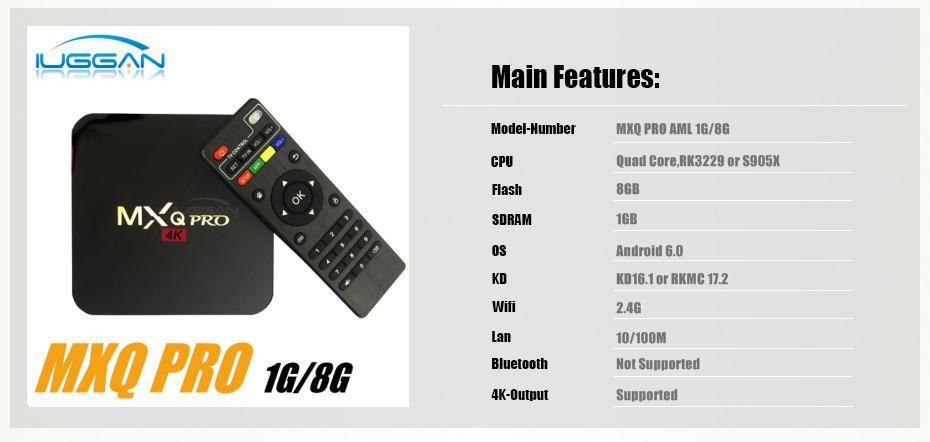 Most Popular TV Box: Ott Tv Box Mxq 4k Firmware Download