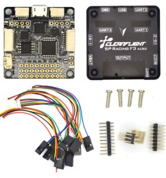 sp pro racing f3 flight controller board cleaflight 6dof 10dof deluxe with brano and for dron quadrocopter quadcopter helicopter [ 1000 x 1000 Pixel ]