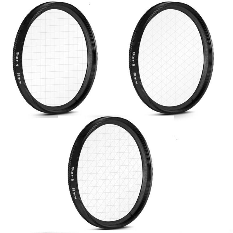 2020 GloryStar 3 In1 Star Filter Kit 4 6 8 Piont Lens