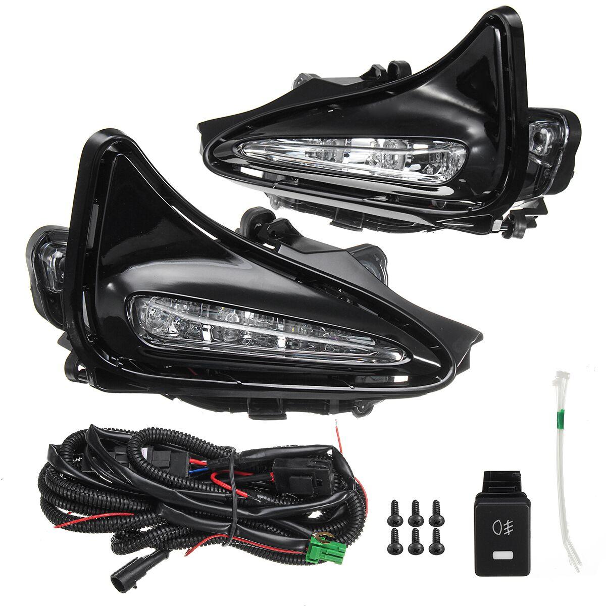 hight resolution of 1pair 2pcs fog light left right 1x fog light switch 1x wiring harness