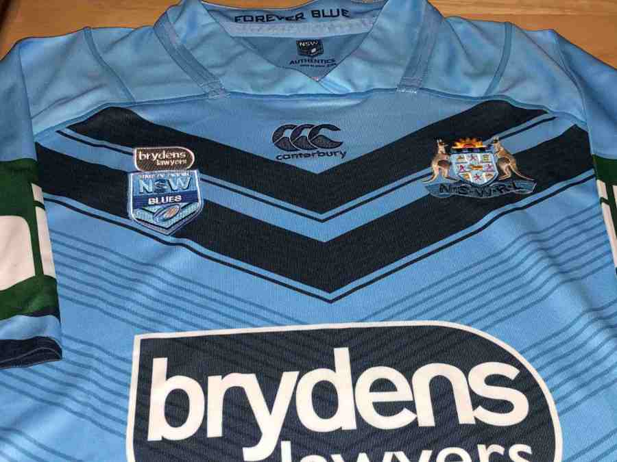 2021 Cheap Mens 2018 NSW Blues Pro Blue QLD Maroons State ...