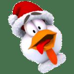تنزيل لعبة حرب الفراخ Chicken Invaders 3 Xmas APK للاندرويد