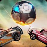 تنزيل لعبة سيارات الكرة Rocket Car Ball للاندرويد