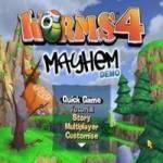 تحميل لعبة الديدان 4 – worms 4 mayhem 3D للكمبيوتر