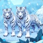 تحميل لعبة White Tiger Family Sim Online للأندرويد