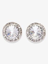 Swaroski Crystal Earrings Statement Earring Bridal ...