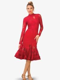 """Angelica"" Floral Lace Short Ballroom Dress - Dresses ..."