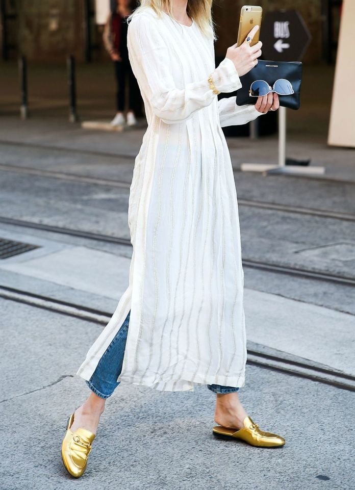 Prema mišljenju Jeanne Damas, haljine koje nalikuju vjenčanicama nisu dobar izbor za posao