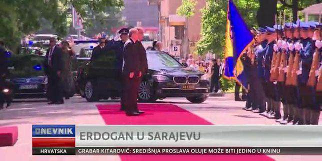 Erdogan u Sarajevu (Video: Dnevnik Nove TV)