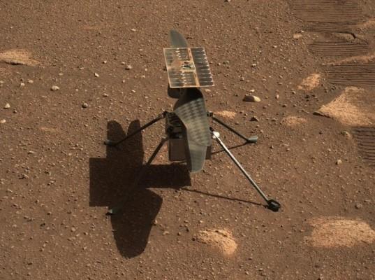 NASA의 화성 헬리콥터 'Injenewity'첫 비행 14 일 연기 : 동아 사이언스