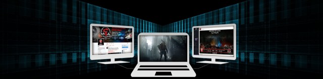 3 monitors 2 laptop msi matrix display