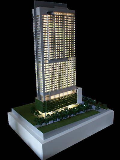 Architectural Model Maker Singapore Commercial Tower
