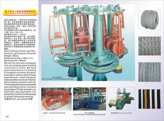 Sell big rope braiding machine40140mmid10514776 from