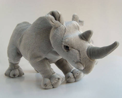 Sell 2013 symbol year animal plush toyRhino toy dollid