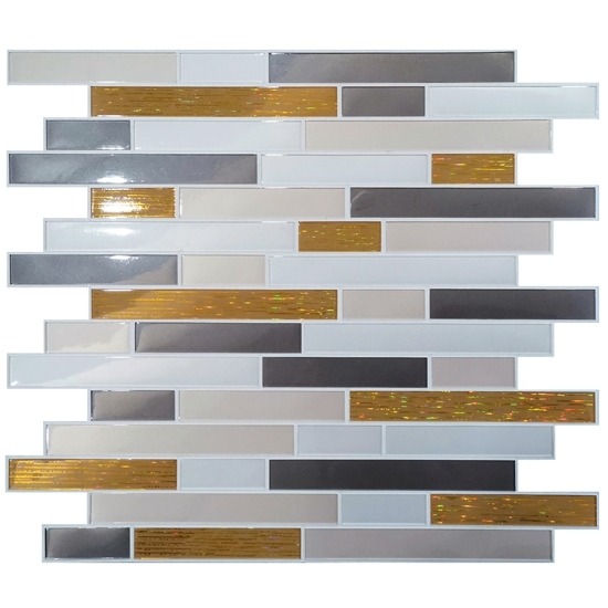 peel and stick mosaic tile easy to
