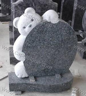 Teddy Bear Tombstone  Gravestone  Headstone  Memorial