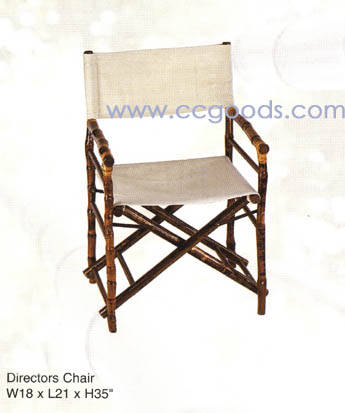 bamboo directors chairs walmart bistro table and furniture rattan cane