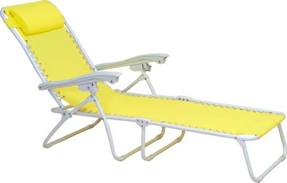 Beach Chair Recliner Chair Reclining Lounge Chair from