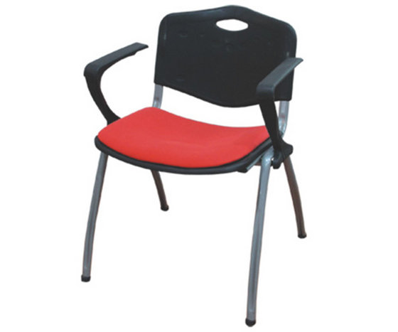 stackable padded chairs true innovations black plastic stacking chair seat cushions tiffany image