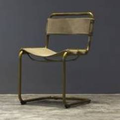 Metal Frame Leather Dining Chair Covers And Tablecloth Rentals Vintage Id 10255355 Product See Larger Picture