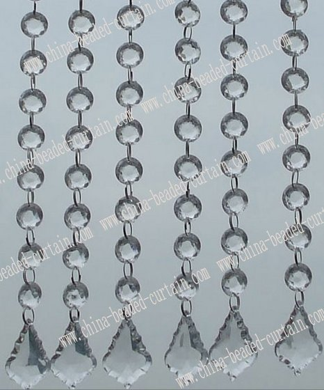 Crystal Beaded Curtain Chandelier Chains Bead Of Strand Image