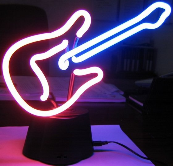 Guitarshaped Neon Lampid6175099 Product details  View