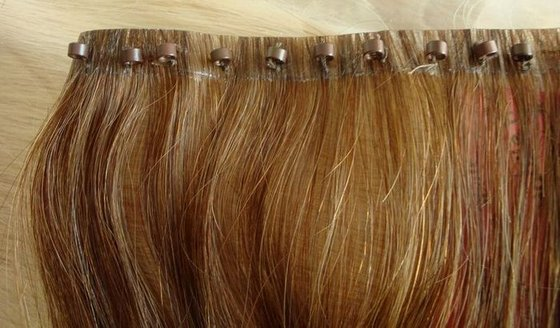 EZ Remy Hair WeaveHair Extension Hair Weft With Micro