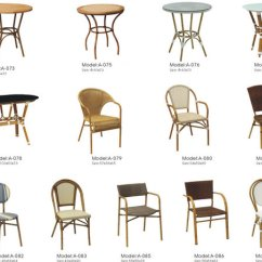 Cafe Rattan French Bistro Chairs White Wooden Kitchen Costco Furniture Chair Cane Id Image