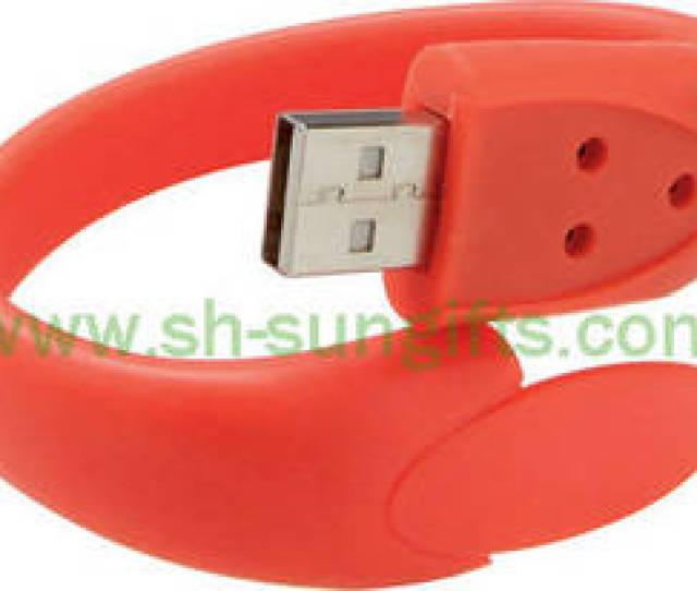Wholesale U Flash Disk Wrist Rubber Strap With U Disk Usb Flash Drive