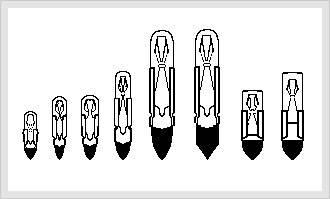 T4.5, T4.6, T5.5k, T5.5, T6.8, T6.8F, PSB(ANSI#5), ESB(id