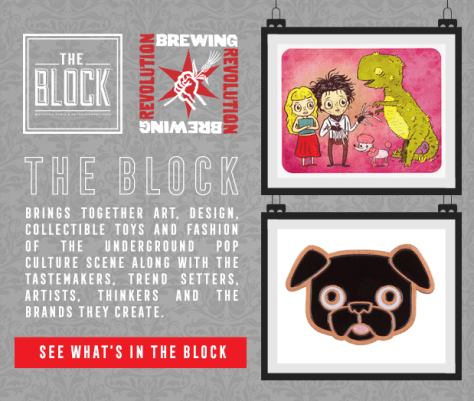 The Block sponsored by Revolution Brewing at C2E2
